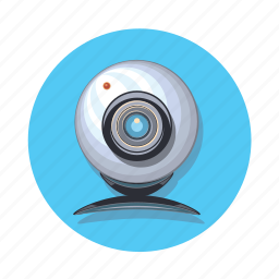 cam, camera, film, media, network icon