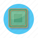 chip, computer, cpu, device, pc icon