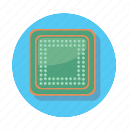 chip, computer, cpu, device, pc icon