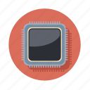 chip, computer, device, hardware, pc icon