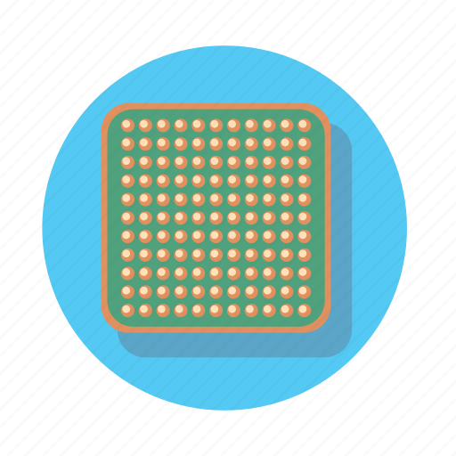 component, cpu, electronics, technology icon