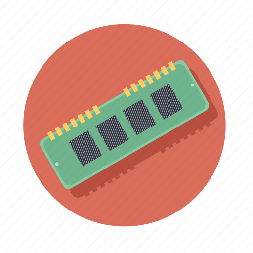 chip, computer, hardware, memory, technology icon