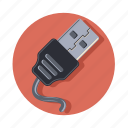 charge, chip, electric, electrical, in, plug icon