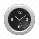 clock, time, timer, wall, watch icon