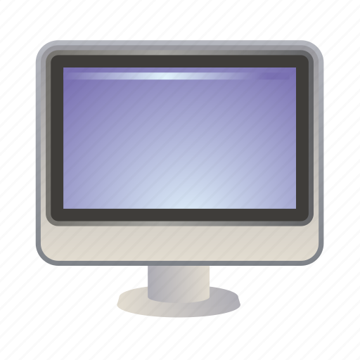 computer, deskop, monitor, screen, technology icon