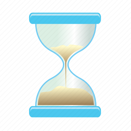 clock, date, sand, time, timer, watch icon