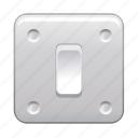 electric, off, on, power, switch icon