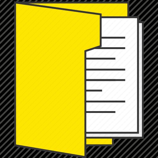 file, folder, internet, network, office, work icon