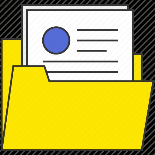 file, folder, inernet, network, office, work icon