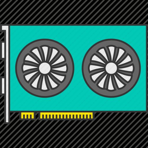 gpu, graphic, graphic card, hardware, video icon