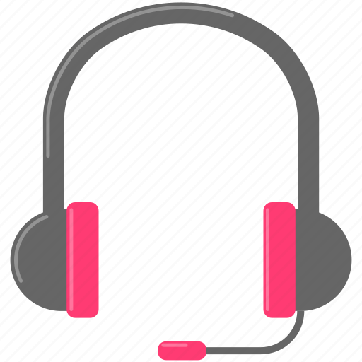 headphone, headset, music icon