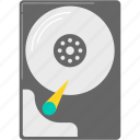 computer, hard disk, hardware icon