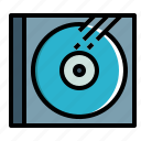 blu, cd, disc, dvd, music, ray icon