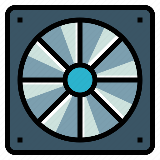 Air, conditioner, cooler, cooling, fan, hot icon - Download on Iconfinder