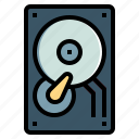 data, disk, drive, hard, hdd, storage icon