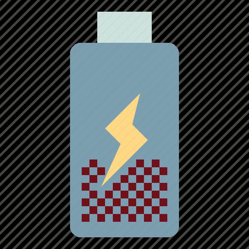 battery, electronics, level, status, technology icon