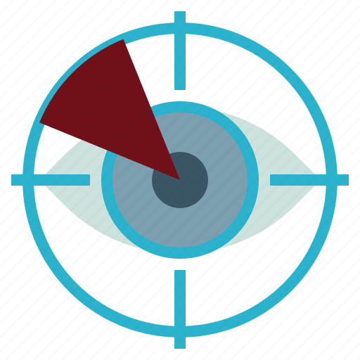 eye, protection, scan, security, technology icon