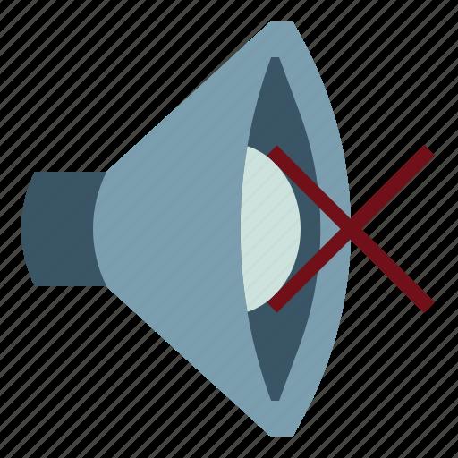 Audio, mute, sound, speaker, volume icon - Download on Iconfinder