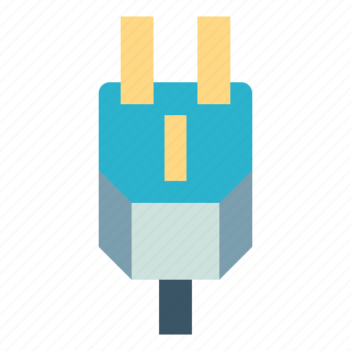 cable, charger, electricity, plug, power icon