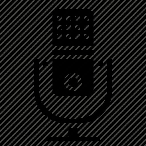 mic, microphones, radio, recorder, voice, volume icon