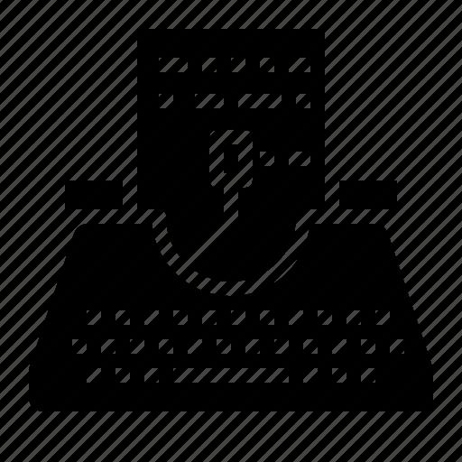 Copyright, paper, typewriter, writer, writing icon - Download on Iconfinder