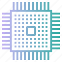 chip, cpu, hardware, microprocessor, processor icon