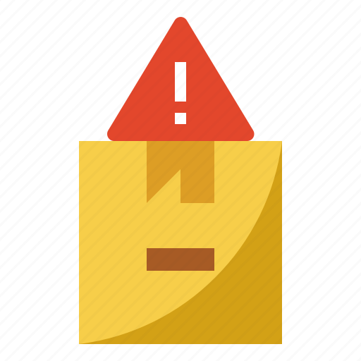 Alert, error, notice, package, warning icon - Download on Iconfinder