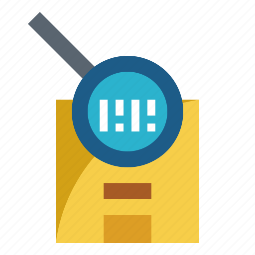 barcode, check, search, tracking, verified icon