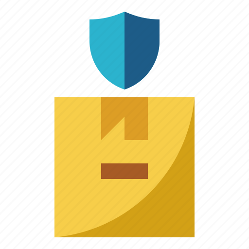Insurance, package, protect, safety, shield icon - Download on Iconfinder