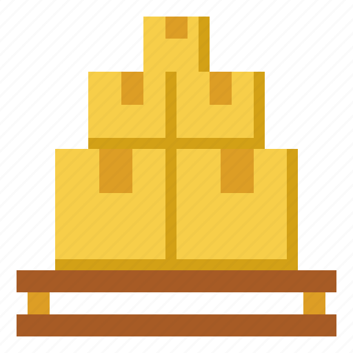 container, delivery, stocks, store, warehouse icon