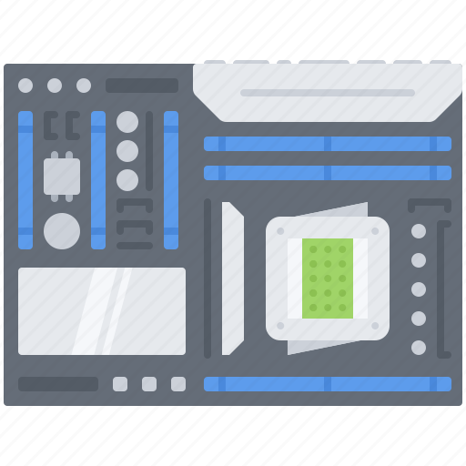 Board, computer, data, information, motherboard, technology icon - Download on Iconfinder