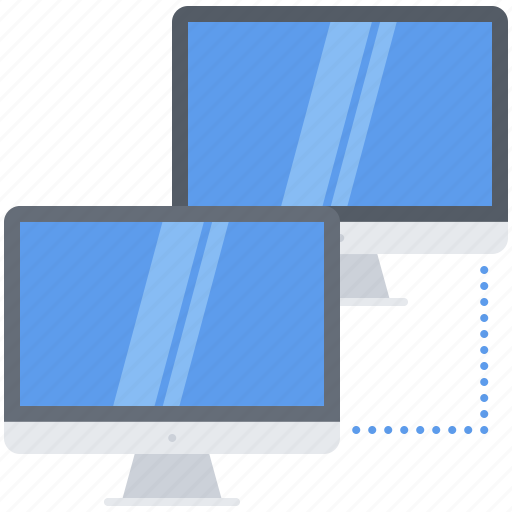 computer, data, information, local, network, technology icon