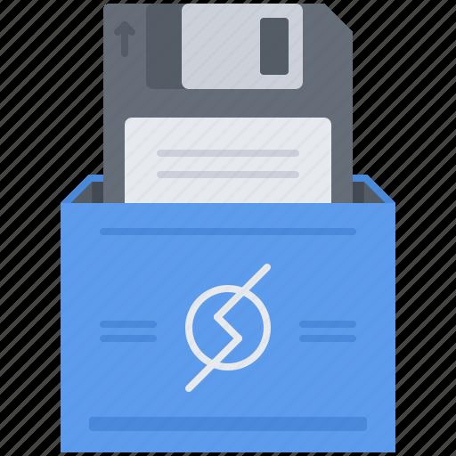 Computer, data, disk, floppy, information, technology icon - Download on Iconfinder