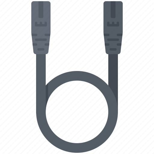 Cable, computer, cord, patch, technology, wire icon - Download on Iconfinder