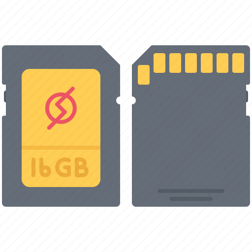 card, computer, data, information, sd, technology icon
