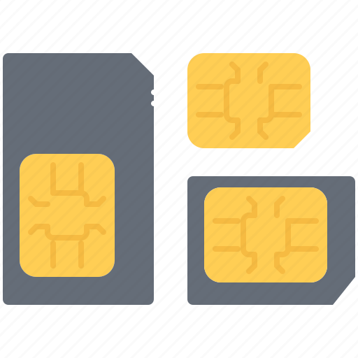 Card, computer, data, information, sim, technology icon - Download on Iconfinder