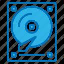 accessory, computer, files, harddisk, storage icon