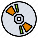 accessory, cd, computer, dvd, rom icon