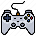 accessory, computer, game, joystick, play icon