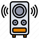 accessory, computer, music, song, speaker icon