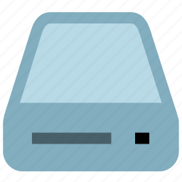 cd driver, computer, disc icon
