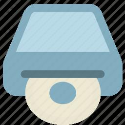 cd driver, computer, disc icon