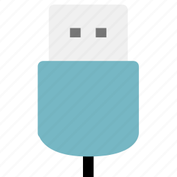 connection, data, electronic, usb icon