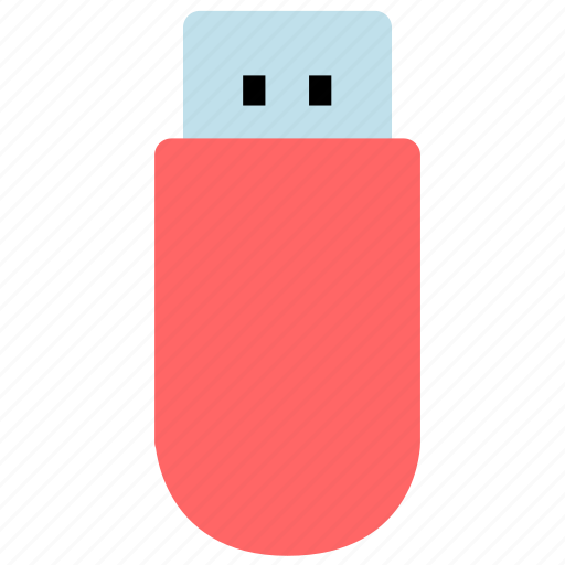 data, flash disk, storage, u disk icon