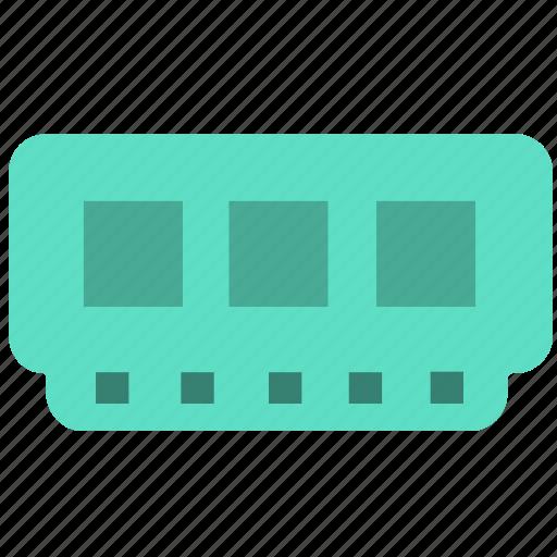 chip, computer, electron, memory card icon