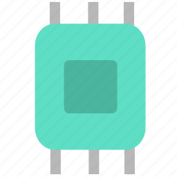 chip, computer, electron, hardware, ic icon