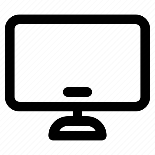 computer, hardware, monitor, screen, technology icon