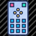 ac remote control, control, controller, remote, remote control, television, tv