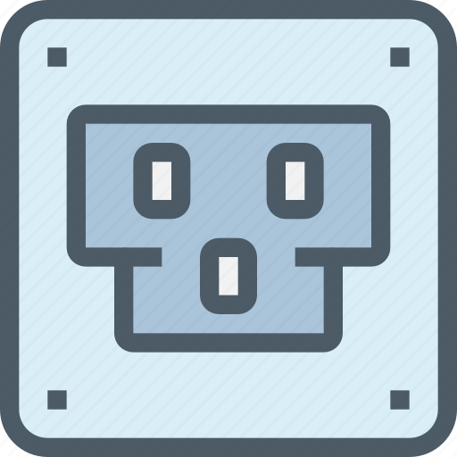 computer, hardware, plug, stock icon
