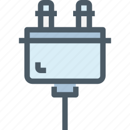 cable, computer, connector, hardware, plug icon